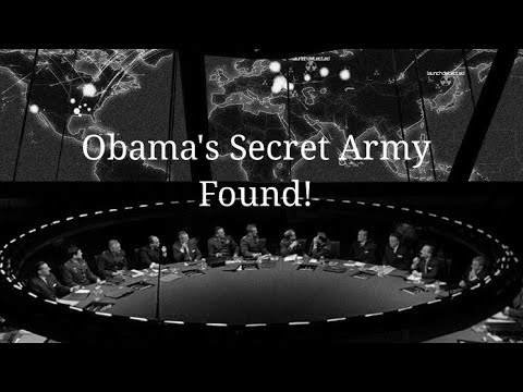 Obama's Secret Army FOUND! (SES)