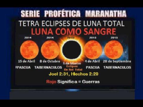 Tercer Templo de Israel y el tetra eclipse lunar