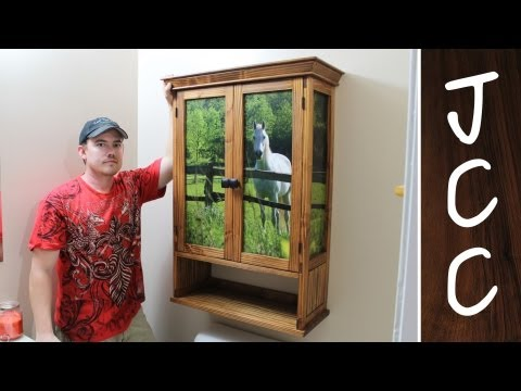 Beautiful Cabinet from 2x4s