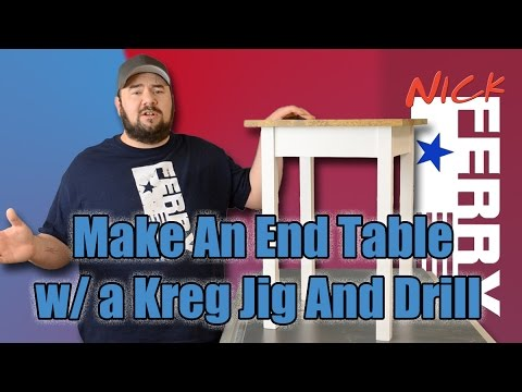 Make an End Table with a Kreg Jig® & a Drill (ep46)