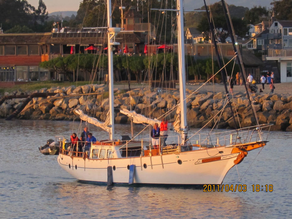 Leaving Santa Cruz for the SF Bay