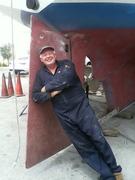 Tandemeer rudder welded 30-Jun-14
