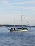 On anchor