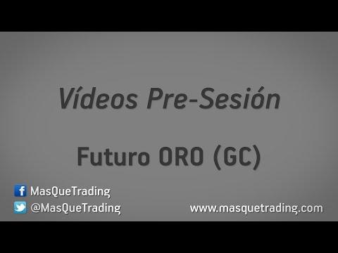 23-5-2016-Trading en español Análisis Pre-Sesión Futuro ORO (GC)