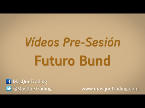 26-5-2016-Trading en español Análisis Pre-Sesión Futuro Bund (FGBL)