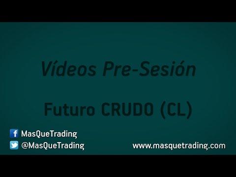 26-5-2016-Trading en español Análisis Pre-Sesión Futuro Crudo (CL)