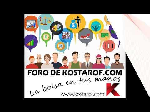 Audio Análisis con Kostarof: IBEX35, BMW, Arcelor, Dominion, Tubacex, Mediaset, FCC, Talgo, Abengoa, Nyesa, Tubos, Gestamp, OHL, Inditex, NHH, Telefónica...