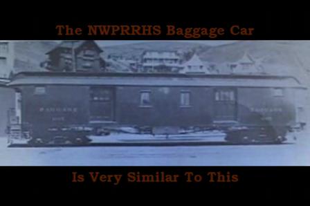 Northwestern Pacific Wooden Baggage Found by NWPRRHS