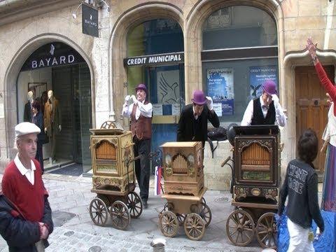 Orgues de Barbarie Dijon