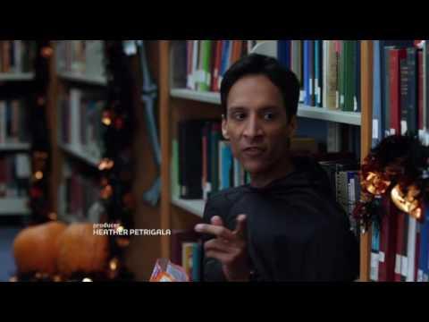 Dark Knight parody on Community