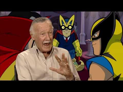 Stan Lee for mayor on 'Superhero Squad'