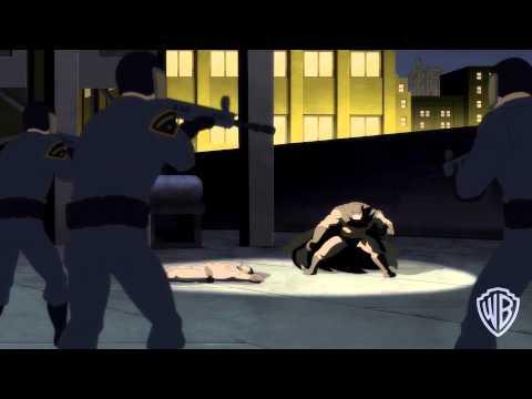 'Batman: The Dark Knight Returns, Part 2' clip #1