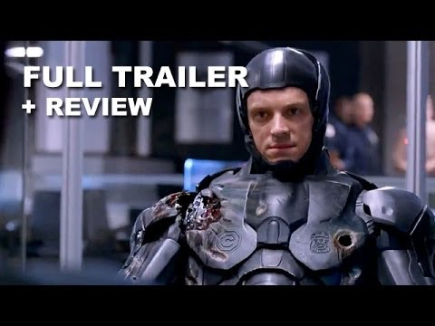 Robocop 2014 Official Trailer 2 + Trailer Review : HD PLUS