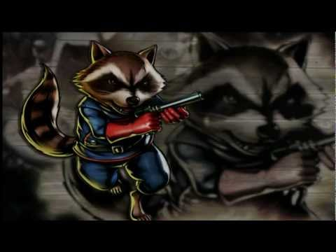UMVC3: Rocket Raccoon Combo Video