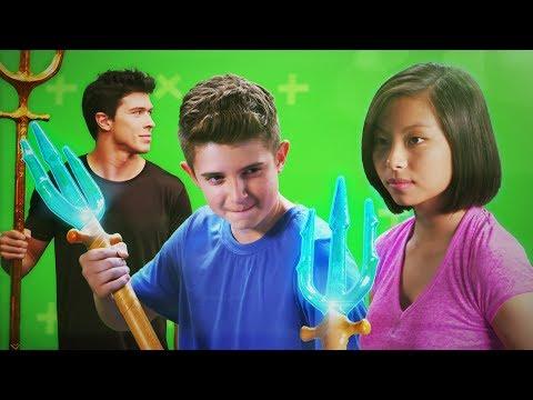 Aquaman Trident Training | DC Kids