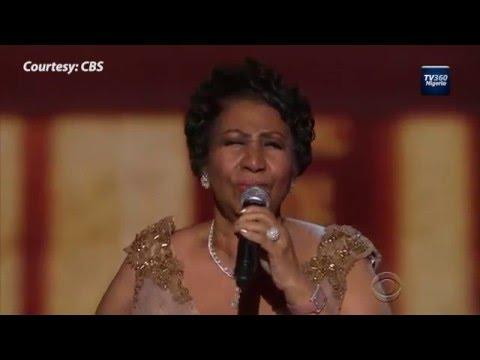 Aretha Franklin Make President Obama Emotional