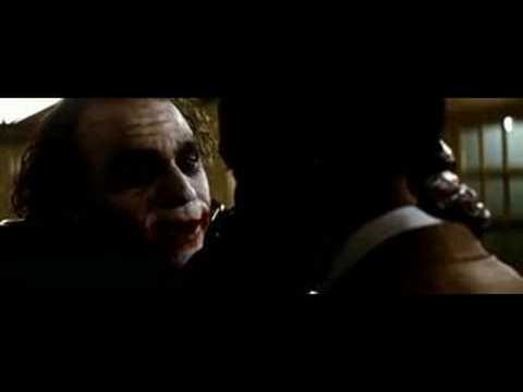 El Caballero Oscuro ¿Por qué tan serio?