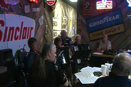 San Antonio Accordion Association May 2010 meeting