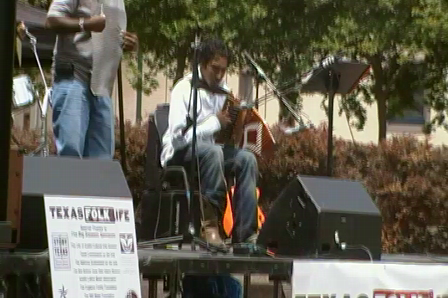 Texas Folklife Accordion Contest semifinalist
