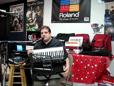 Roland's Steve Albini Announces Danny Blanco as the 2011 Roland Diatonic Accordion Champion
