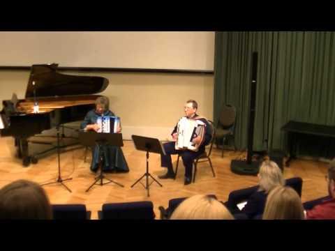 Finnish Polka - Accordion Duo Elena & Gregory