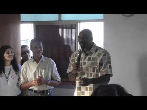 MV Bill no lançamento CUFA no CENPAH em SSA