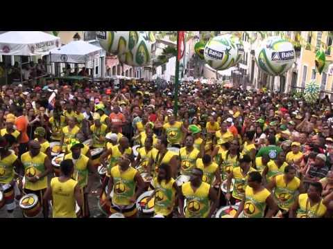 Torcida Olodum Brasil Copa do Mundo 2014