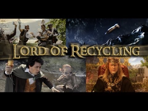 Lord of Recycling - LOTR Parody