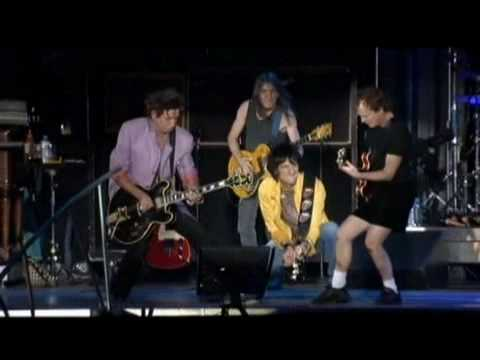Rock Me Baby - The Rolling Stones & AC DC
