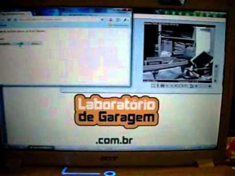 Robô Wi-Fi controlado via Internet com Arduino e Shield Ethernet