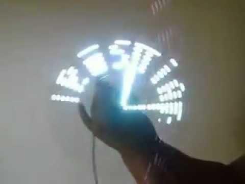 Propeller Clock Brasilia DF versão 2.0