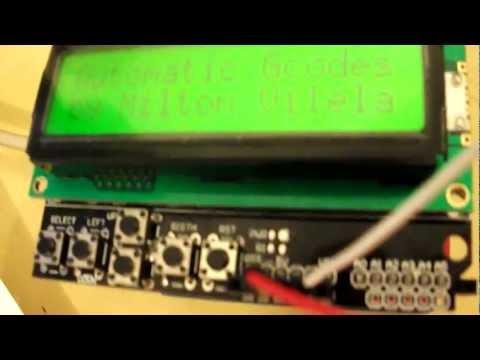 GRBL + two + Arduino + SD Shield + LCD + Pololu A4988 = Headless CNC