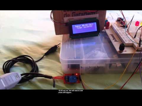 Arduino Irrigation System part 3