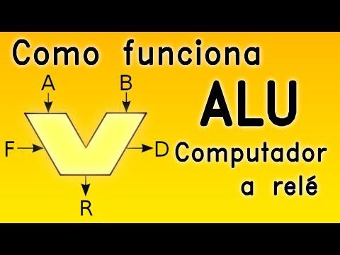 Como funciona a ALU - computador a relé #1