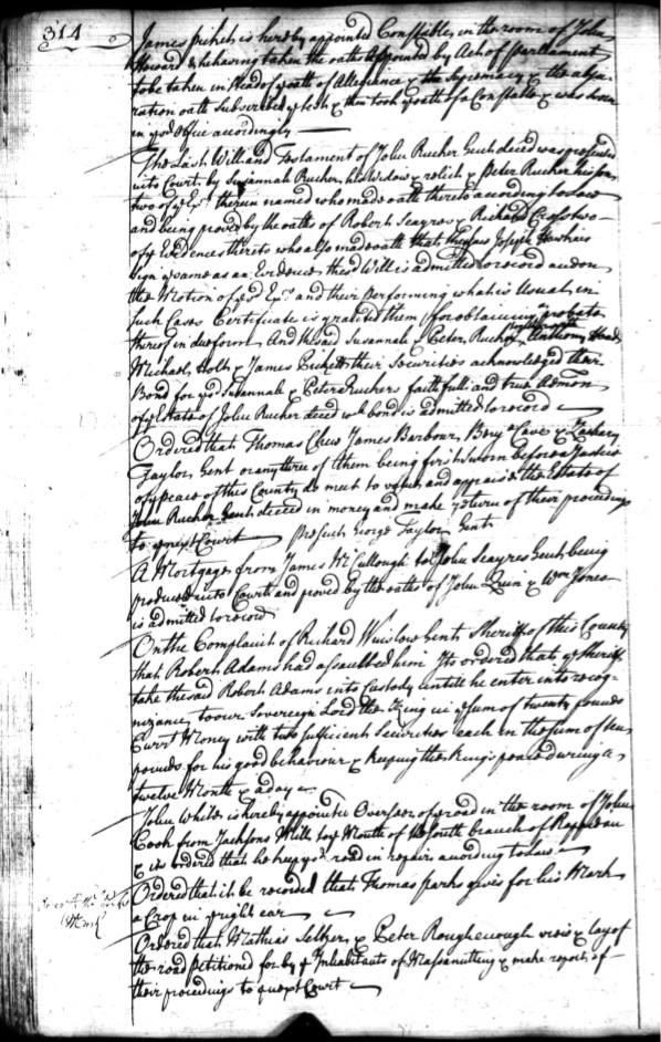 Page 314 Orange County  Court Records