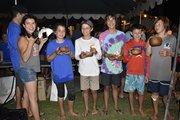 Open Bic U13 Gold Fleet top 5 Winners