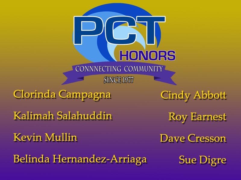 PCT Honors 2018 Honorees