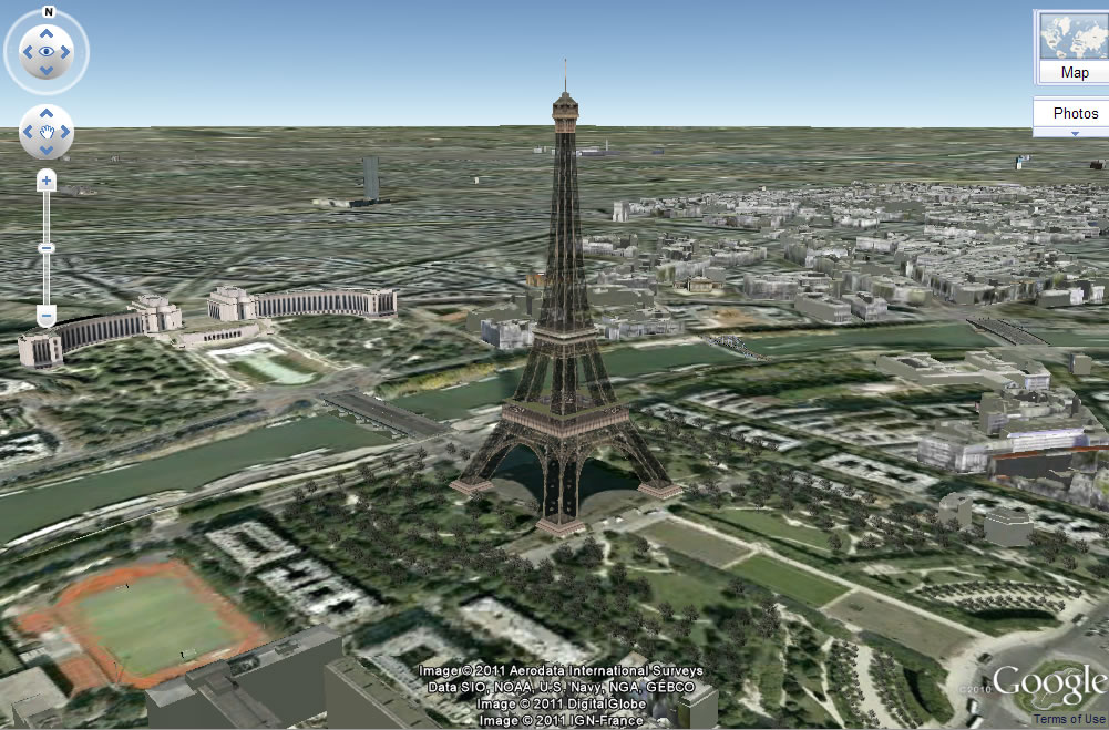 Google Earth in 3D - EUROCALL/CALICO SIGs