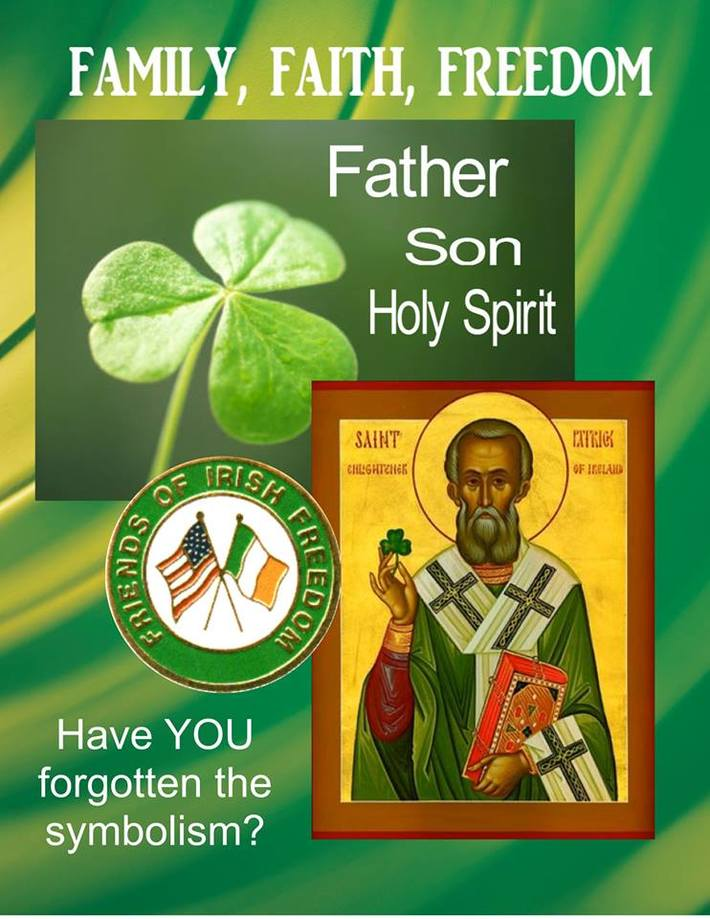 FOIF 2014 St. Patrick Day poster