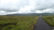 Path to the Noel Lemass monument, Dublin/Wicklow Mountains