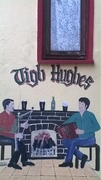 The wall of Tigh Hughes