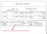 honora birth 1866