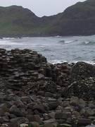 Choppy Seas - Giant's Causeway