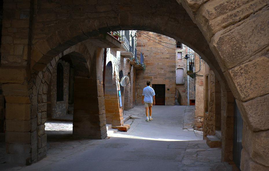Guimerá, pueblo medieval, Lleida (Catalunya)
