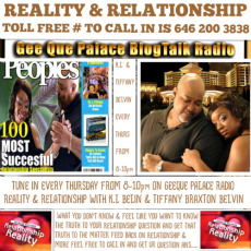 """GEEQUE PALACE RADIO """"REALITY & RELATIONSHIP"""""""