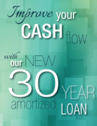 New 30 amortized loans for Real Estate Investors