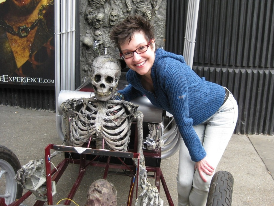 Mitzi and Her New Boyfriend