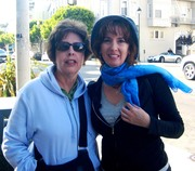 Me and my mom, San Francisco, 2008