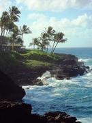 Kauai, honeymoon, July 2009