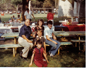 Lands & Sims Family Reunion 1986